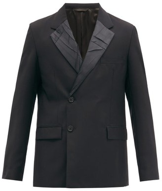 Acne Studios Single-breasted Wool And Mohair-blend Blazer - Black
