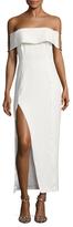 Style Stalker Loreto Off Shoulder Side Slit Dress