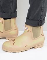 Hunter Camo Chelsea Boots