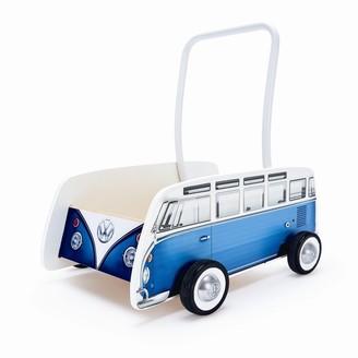 Hape Walker Classical Blue Bus