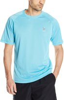 U.S. Polo Assn. Men's Solid Rash Guard UPF 50+ Swim T-Shirt
