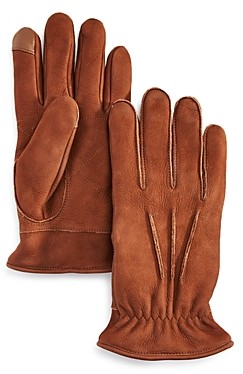 UGG 3-Point Leather Gloves