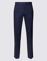 Blue Harbour Cotton Rich Stretch Chinos With Buttonsafetm