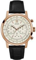 GUESS Rose Gold-Tone Oversized Chronograph Watch