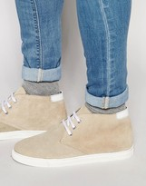 Rule London Hi Top Plimsolls