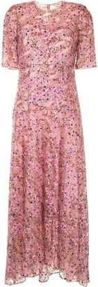 DELPOZO Sequin-Embellished Maxi Dress