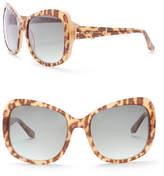 Elie Tahari Women's 55mm Geo Acetate Glam Sunglasses