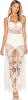 For Love & Lemons Maldives Crochet Dress