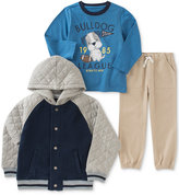 Kids Headquarters 3-Pc. Hooded Jacket, T-Shirt & Pants Set, Baby Boys (0-24 months)