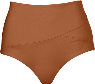 Marysia Swim Lehi Floral High-Waist Bikini Swim Bottom
