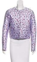 Altuzarra Embroidered Long Sleeve Jacket
