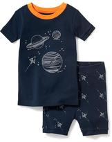 Old Navy 2-Piece Space Graphic Sleep Set For Toddler & Baby
