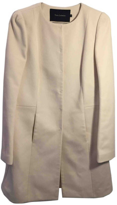 Tara Jarmon Ecru Wool Coats