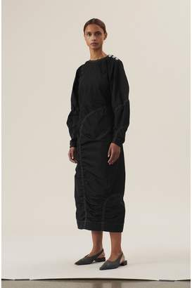 Ganni Recycled Polyester Dress