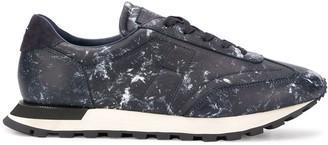 Maison Margiela Replica paint-splatter effect low-top sneakers