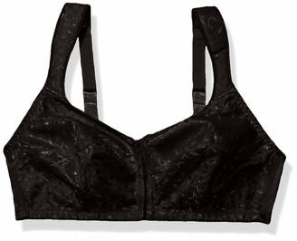 Just My Size Women's Front Close Soft Cup Plus Size Bra (1107)