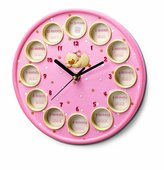 Russ Berrie Diddy Duck First Year Clock, Pink