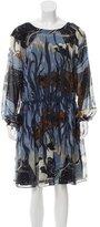 Gucci 2015 Fantasy Print Silk Dress w/ Tags