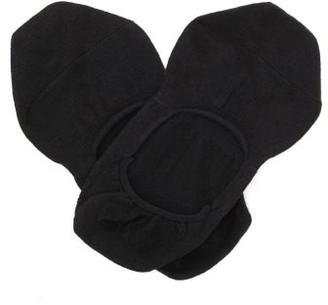 Falke Step Cotton Blend Liner Socks - Mens - Black