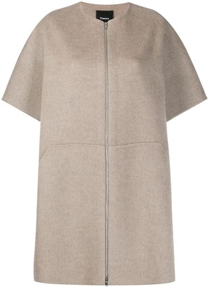 Theory Double-Faced Bell Coat