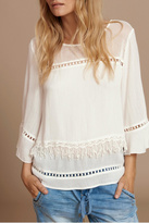 Cream Layered Blouse