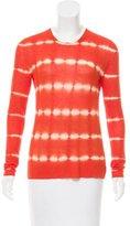 Michael Kors Printed Long Sleeve Top