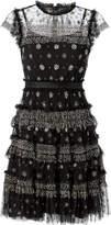 Needle & Thread Andromeda Mini Black Mini Dress