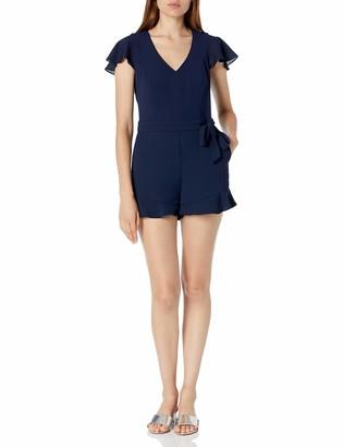 Parker Women's Short Sleeve Catherine Combo Romper