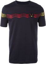 Fendi No Words embroidered T-shirt - men - Cotton - 50