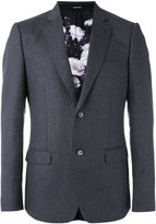 Alexander McQueen blazer jacket - men - Silk/Polyester/Viscose/Wool - 48