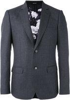 Alexander McQueen blazer jacket - men - Wool/Silk/Polyester/Viscose - 48