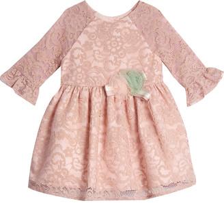 Pastourelle Raglan Lace Dress