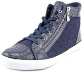 G by Guess Orily Side Zip Quilted High Top Fashion Sneakers