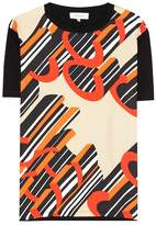 Carven Silk and cotton T-shirt