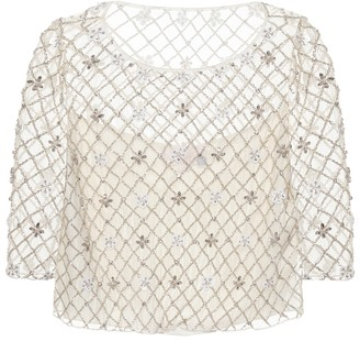 Temperley London Betsy embellished top