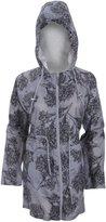 Universal Textiles Womens/Ladies Floral Pattern Hooded Packaway Raincoat