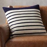 "CB2 20"" Division Rust Pillow"