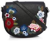 Dotti Embroidered Saddle Bag