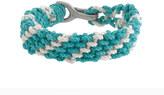 J.Crew Braided rope bracelet in stripe