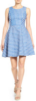 Vineyard Vines Stripe Fit & Flare Dress