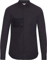 Marni Patch-pocket cotton-poplin shirt