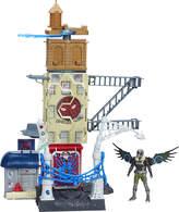 "Spiderman 6"" web city playset"