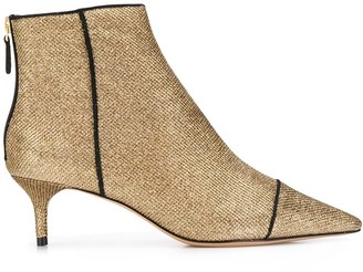 Alexandre Birman Shimmer Socks Boots