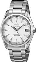 Omega Men's 231.10.39.21.02.001 Seamaster Aqua Terra Mid Size Chronometer Dial Watch