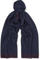 Ermenegildo Zegna Two-Tone Wool Scarf