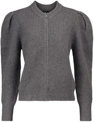 Isabel Marant Randy wool and cashmere zipped sweater
