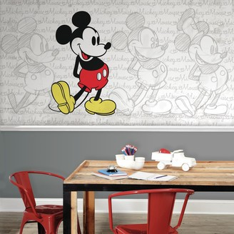 Mural Roommates Disney Mickey Mouse Wall by RoomMates