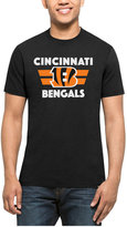 '47 Men's Cincinnati Bengals Two Bar Splitter T-Shirt