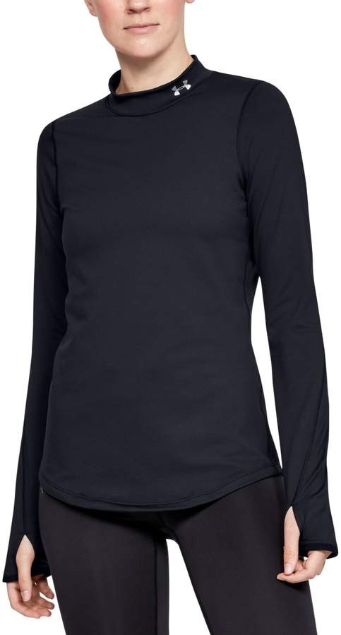 Under Armour Women's ColdGear Armour Fitted Mock Neck