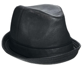 ASOS Small Trilby Hat in Waxed Fabric